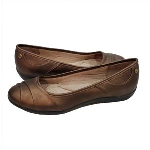 Lifestride Bronze Liza Too Cenegal Flats, 11M